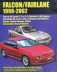 Ford Falcon/Fairlane 6 Cyl & V8 AU Series 1, 2 & 3 98-02 Manual Blacktown Blacktown Area Preview