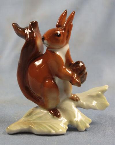 squirrel hutschenreuther Figurine porcelain eichhörnchen perfect 1950