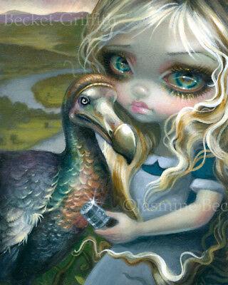 Jasmine Becket Griffith Art Print Signed Alices Prize Alice In Wonderland Dodo
