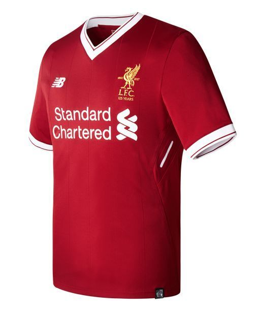 New Balance Liverpool  2017 - 2018 Home Soccer Jersey Brand