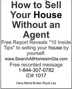 *HOW TO SELL YOUR HOME WITHOUT AN AGENT AND SAVE THE COMMISSION*