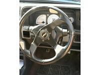 escort steering wheel and boss