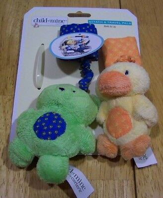 Carter's Child of Mine ATTACH & TRAVEL PLUSH TOYS NEW