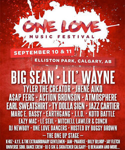 One Love Festival General Admission Ticket