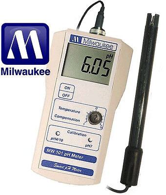 Used, Milwaukee MW101 Smart Portable pH Tester/Meter for sale  Shipping to Nigeria