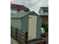 8x6ft garden shed for sale