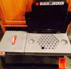 Kids Black & Decker Tool table with saw