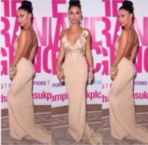 Gold Sequin Backless Gown Bridesmaid Mermaid Long Formal Evening Dress Surfers Paradise Gold Coast City Preview