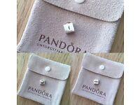 Pandora 2 tone charm