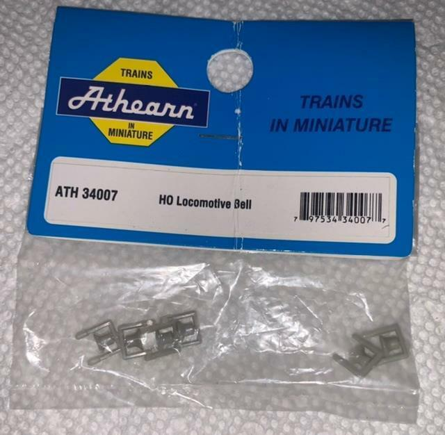 Parts -Athearn BB 34007 HO Locomotive Bell 6 Per Pack