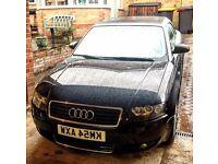 Audi A4 Convertible - Black - Great Car!