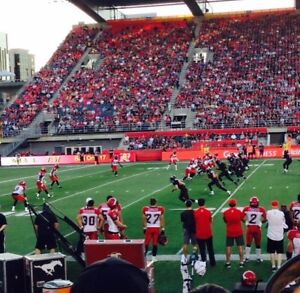 2 Grey Cup Tickets Section U 10 rows off the field