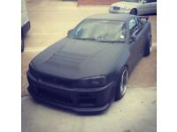 Nissan Skyline R34 GTS for sale