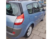 ((( 7 SEATER ))) * RENAULT GRAND SCENIC 1.6*MPV*ESTATE*MOT-1 YEAR*EXCELLENT like vauxhall zafira