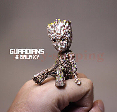 Guardians Of The Galaxy Vol  2 Baby Sitting Groot  2   Figure Toy Gift