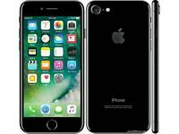 **I-PHONE 7 256gb (brand-New) JET BLACK Not even been used!! Locked to 02