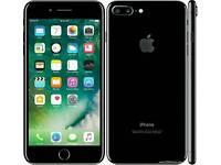 IPhone 7 plus 256gb jet back unlocked