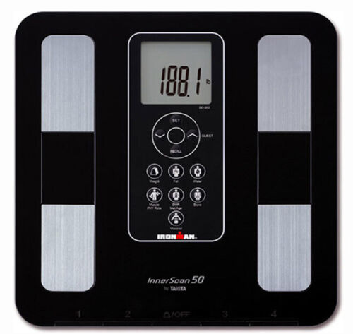 Tanita Ironman BC-350 Body Composition Scale - Black