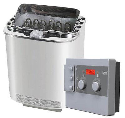 Combi Bio Saunaofen Saunaheizgerät Saunaheizung Ofen 8KW mit Saunasteuerung