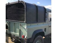 Ifor Williams Land Rover defender 90 pick up canopy