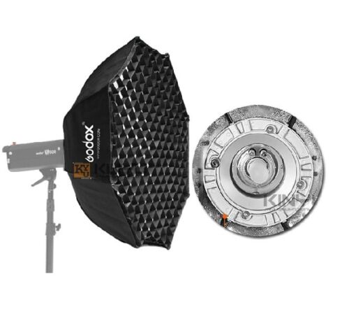 """37 Octagon Honeycomb Grid Softbox With Flash Mounting For: Godox Octagon Softbox 37"""" 95cm Bowens Mount For Studio"""
