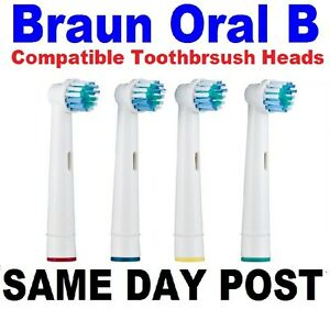 Braun ORAL B OralB Compatible Replacement Electric Toothbrush Heads