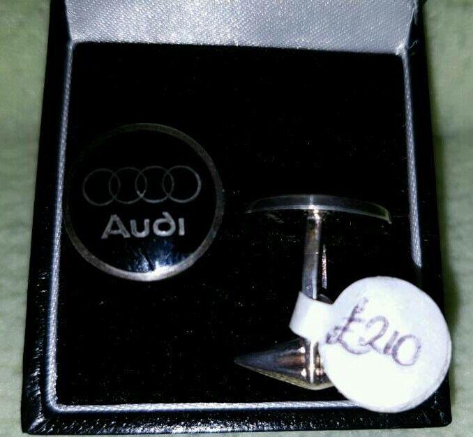 Silver Audi Cufflinks