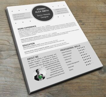 get your dream job with a stand out resume from 45