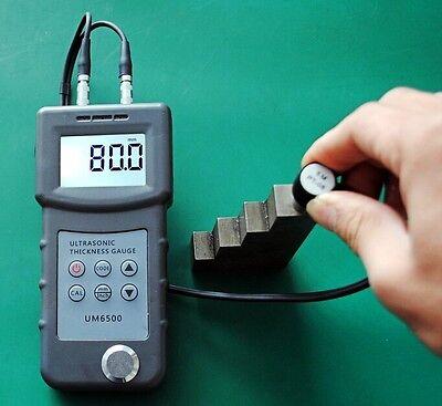 New Digital Um6500 Ultrasonic Thickness Gauge Tester Meter 1.0-245mm0.05-8inch