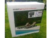 New in box allibert daytona sunlounger