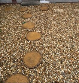 Log Effect Stepping Stones