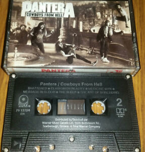 Pantera - Cowboys From Hell on cassette