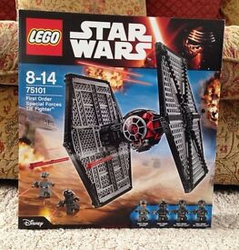 Lego Star Wars TIE Fighter New