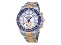 Rolex Yacht Master 2 Stainless Steel Rose Gold