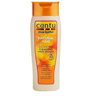 Cantu Sheabutter für naturliches Haar Sulfat frei Reinigungscreme Shampoo 400ml ()