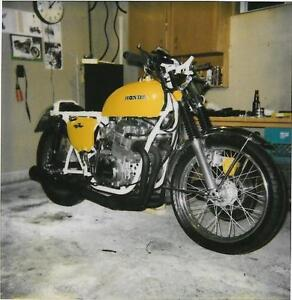 1972 Honda CB 750 CB750 with White Frame