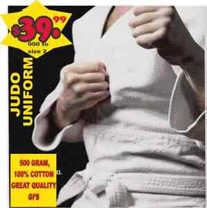 JUDO UNIFORM,500 GRAM,100% COTTON (905) 364-0440 WWW.FIGHTPRO.CA
