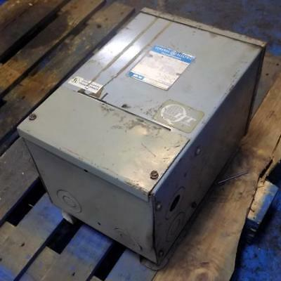 General Electric Single Phase 240x480 To 120240v 10kva Transformer 9t21b1006g4