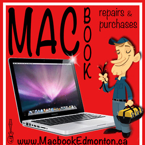 Macbook / iMac Repairs Screens Upgrades Purchases Slow & Virus