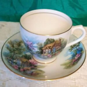 Vintage 'Duchess England Bone China' Cup & Saucer F/S