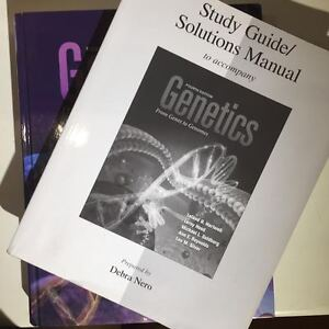 Genetics From Genes to Genomes 4th ed. w/ Solutions Manual London Ontario image 2