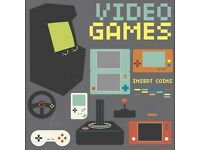 WANTED VIDEO GAMES AND CONSOLES
