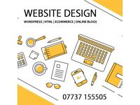 High Quality Bespoke Website Design - Online Store - Wordpress Websites - Online Blogs