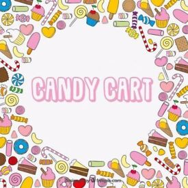 Candy Cart For Weddings, Events, Xmas Parties