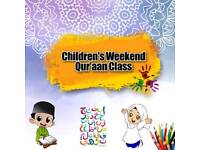 Weekend Quran Classes For Kids