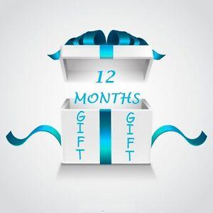 12 Months Full Gift For Openbox V8s F5 F3 Zgemma Skybox Vu Skybox