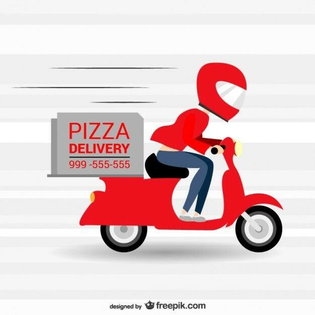 Delivery rider with his own motorbike wanted