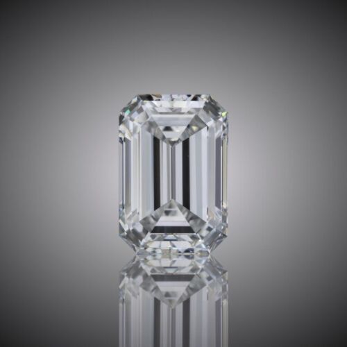 1.87 CARAT G VS1 GIA CERTIFIED EMERALD CUT DIAMOND ENGAGEMENT RING IN PLAT950 2