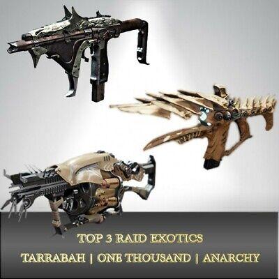 Destiny 2 - Tarrabah, One Thousand Voices, Anarchy Farm (Boss Only)(PS4)
