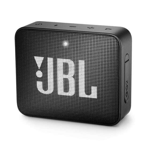 JBL GO 2 Portable Bluetooth Speaker - Black